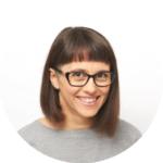 Portrait of Pascale Recher in 2018
