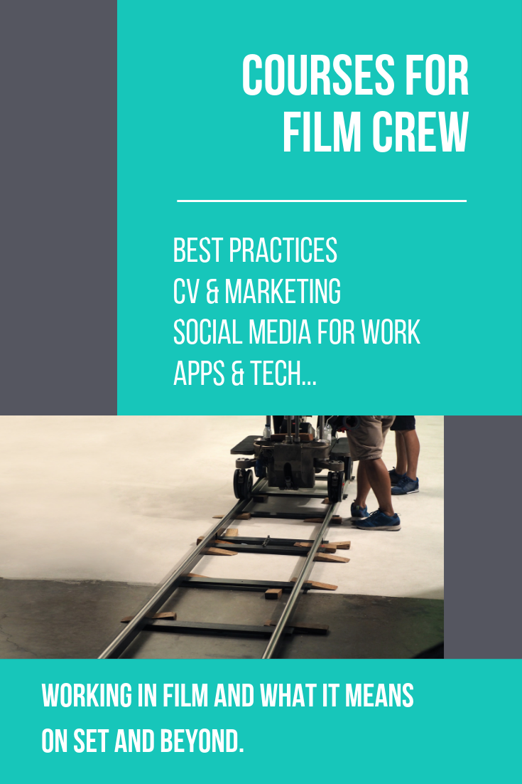 Courses for people in the film industry